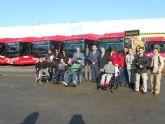 Los autobuses 'coloraos' recorrerán a partir de mañana la Murcia urbana