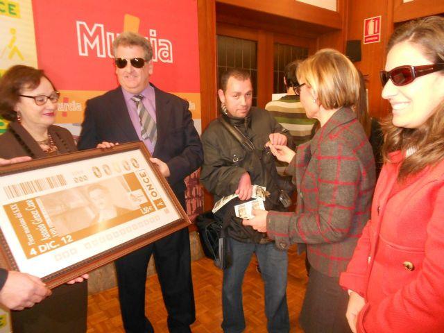 La ONCE rinde homenaje al pintor murciano Antonio Gómez Cano con un cupón que llevará su imagen - 1, Foto 1