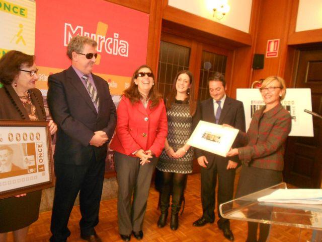 La ONCE rinde homenaje al pintor murciano Antonio Gómez Cano con un cupón que llevará su imagen - 3, Foto 3