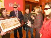 La ONCE rinde homenaje al pintor murciano Antonio Gómez Cano con un cupón que llevará su imagen