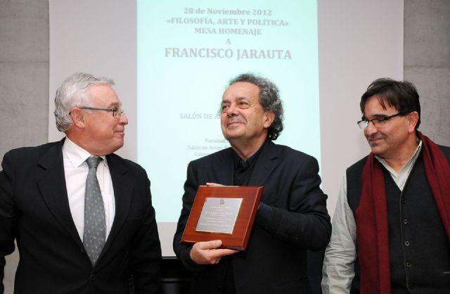 El profesor Francisco Jarauta recibe un homenaje de la Facultad de Filosofía por su jubilación - 1, Foto 1