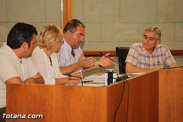 Los concejales de IU-Verdes en una foto de archivo / Totana.com, Foto 1