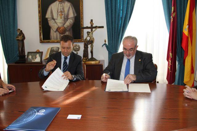 La UCAM firma un convenio con la cadena AC hoteles - 1, Foto 1