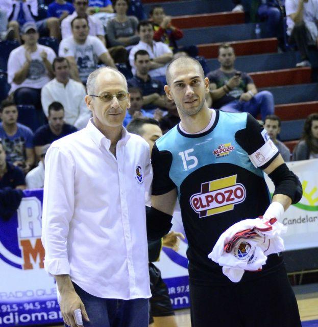 Rafa, Miguelín y Kike, homenajeados por el Club y la 'Marea Roja' en el partido ante Burela FS - 1, Foto 1