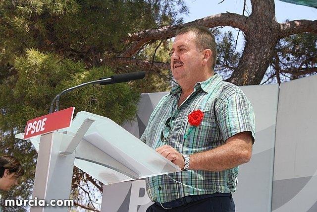el secretario general de los socialistas totaneros, Andrés García Cánovas, en una foto de archivo / Murcia.com, Foto 1
