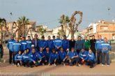 La Liga Regional de Petanca acoge en Alguazas el encuentro entre los clubes 'Nuestra Señora del Carmen' de nuestra localidad y el Águilas