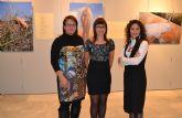 Mar Sáez e Idoia Arbillaga muestran sus 'Mujeres Invisibles' en San Pedro del Pinatar