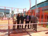 Rafael Gómez inaugura la primera pista Tiger Padel Courts en beneficio de Lorca