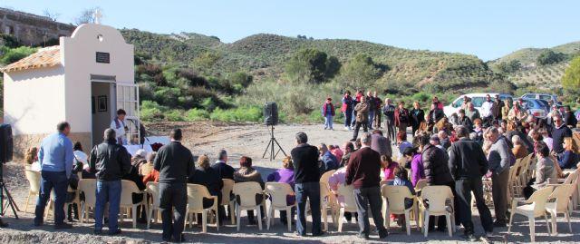 Bendecida la Capilla en Honor a la Virgen del Carmen del Cabezo de la Jara que fue destruida por la riada - 2, Foto 2
