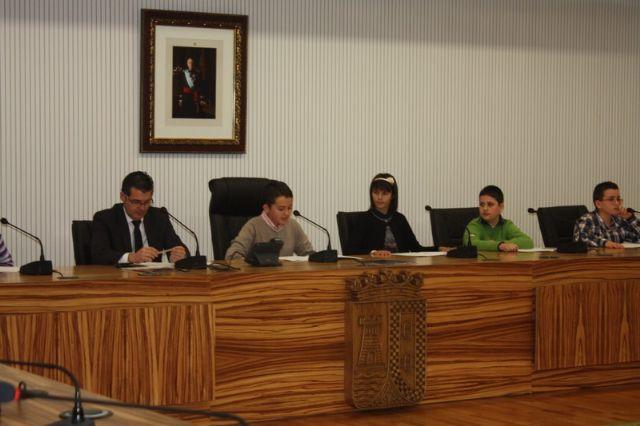 Pleno Infantil en Torre-Pacheco con motivo del Día Internacional de los Derechos de los niños - 1, Foto 1