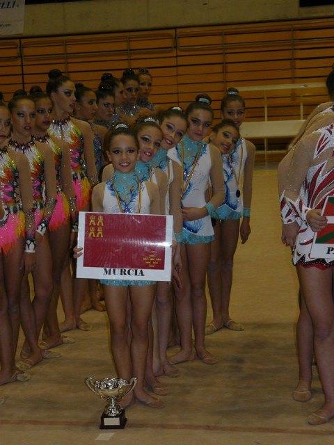 El equipo alevín absolucto del Club Gimnasia Competición Torre-Pacheco queda subcampeón en Arganda del Rey - 2, Foto 2