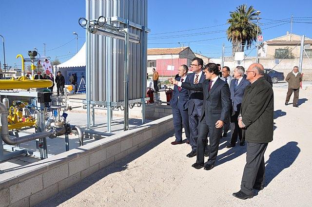 La Comunidad amplía la red de gas natural al municipio de Cieza - 1, Foto 1