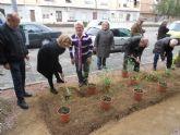 Vecinos de Barriomar se involucran en el cuidado de sus zonas verdes