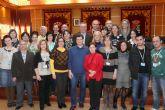 El Ayuntamiento de Molina de Segura recibe la visita de los participantes en el encuentro europeo Comenius que coordina el C.E.I.P. San Miguel