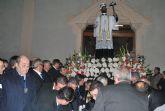 La imagen del Patrón recorrió las calles de San Javier en procesión en el día grande de las fiestas