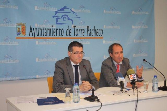 El Ayuntamiento de Torre-Pacheco es el primer municipio de la Región en fomentar la formación gracias a dos convenios firmados con el SEF - 1, Foto 1