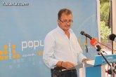 El presidente del PP de Totana informa que el Gobierno de España va a subir hasta un 2% las pensiones a pesar de la crisis