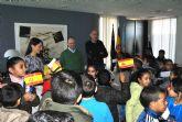 Escolares del 'Severo Ochoa' visitaron el Ayuntamiento para celebrar la Constitución