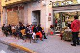 Mazarr�n celebra el D�a de las Librer�as con un acto que anima el centro del Puerto