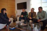La alcaldesa mantiene su primera reunión institucional con el nuevo presidente y junta directiva del Ilustre Cabildo Superior de Procesiones