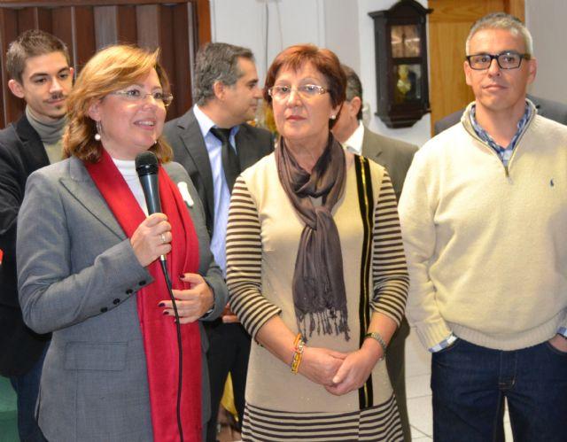 La Asociación de Amas de Casa inaugura un rastrillo solidario a beneficio de Afacmur - 1, Foto 1