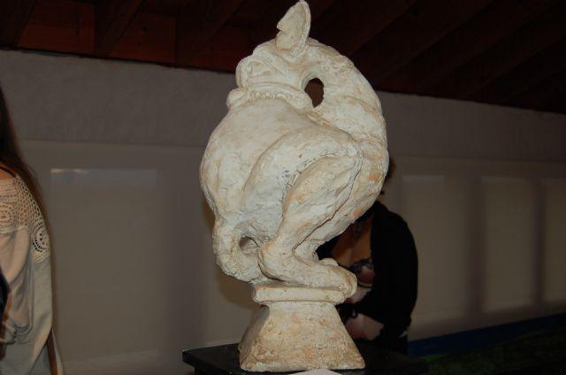 La emblemática Torre Vieja de Alguazas alberga hasta el próximo Domingo 16 de Diciembre la exposición colectiva Transbordo/Trans-gótico - 1, Foto 1