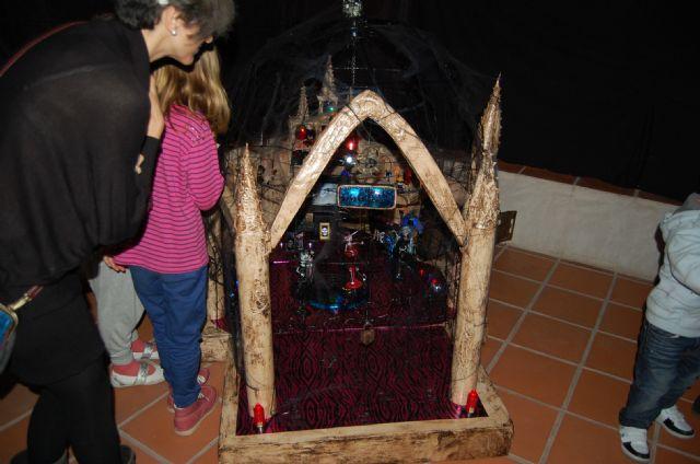 La emblemática Torre Vieja de Alguazas alberga hasta el próximo Domingo 16 de Diciembre la exposición colectiva Transbordo/Trans-gótico - 3, Foto 3