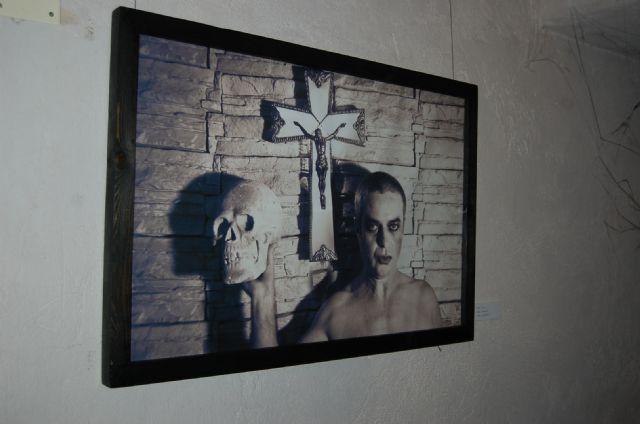 La emblemática Torre Vieja de Alguazas alberga hasta el próximo Domingo 16 de Diciembre la exposición colectiva Transbordo/Trans-gótico - 4, Foto 4