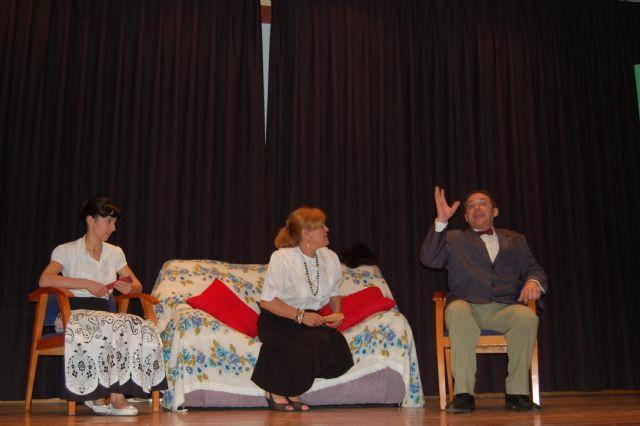 El Grupo de Teatro El Molinico de Alguazas salta al escenario en clave de sainete - 3, Foto 3