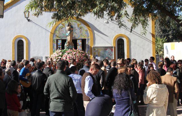 La pedanía lumbrerense de El Esparragal- La Estación recuerda a las víctimas de la riada el día de laPurísimaConcepción - 1, Foto 1