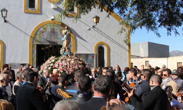 La pedanía lumbrerense de El Esparragal- La Estación recuerda a las víctimas de la riada el día de laPurísimaConcepción - 2, Foto 2
