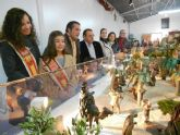 La Federación de Peñas Huertanas estrena la Navidad con la inauguración de su belén