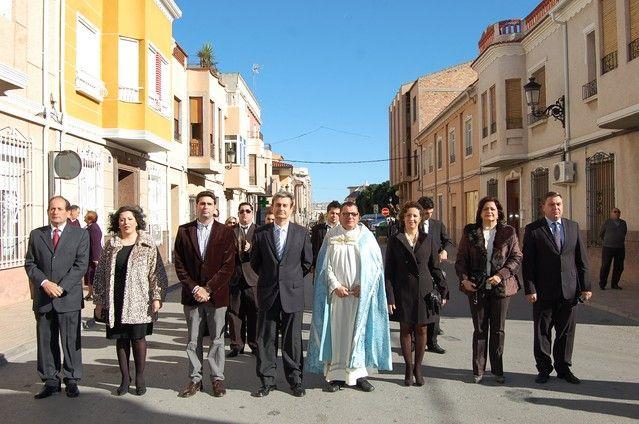 Numerosos feligreses de Alguazas veneran a la Purísima Concepción en su día grande - 2, Foto 2