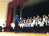 El coro de Voces Blancas de San Javier se presentó en Santiago de la Ribera con gran éxito