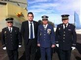 El concejal de Seguridad Ciudadana asiste al acto institucional de festividad de la Patrona del Ejército del Aire en el EVA-13, en el Morrón de Espuña