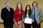 Aránzazu Sánchez Manzano gana el concurso para publicitar la edición 2013 de la Universidad del Mar-Campus Mare Nostrum