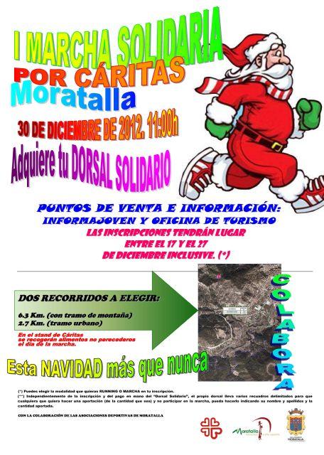 Cáritas y las distintas asociaciones deportivas de Moratalla, han puesto en marcha este año la I Marcha Solidaria por Cáritas - 2, Foto 2