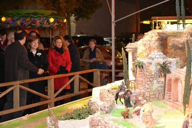 El encendido del Belén municipal inicia la programación navideña en San Pedro del Pinatar - 1, Foto 1