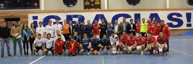 La AFE gana el Triangular Solidario de Fútbol Sala disputado entre jugadores profesionales y jugadores del Club Deportivo Lumbreras - 1, Foto 1