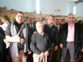 Decenas de vecinos de Santiago y Zaraiche se dan cita para inaugurar el Belén de la pedanía