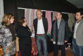 El Alcalde inauguró ayer la II Feria del Comercio y la Gastronomía de San Javier que abre todo el fin de semana en la carpa del Parque Almansa