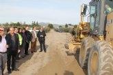La Comunidad desarrolla una primera fase de los trabajos de recuperación de los caminos rurales de Puerto Lumbreras