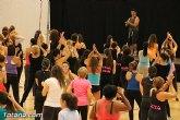 El pabellón de Deportes acogió una novedosa actividad de Zumba Fitness