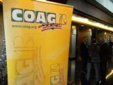 Autoridades municipales asisten al V Congreso regional de COAG-IR que se celebró en Murcia bajo el lema 'Agricultura es alimentación'
