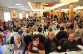 Más de 500 mayoresde Puerto Lumbreras celebran su encuentro navideño anual con la Asociación de Ocio y Tiempo Libre de la Tercera Edad