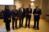 La alcaldesa se reúne con el Comisario Europeo de Política Regional junto con Valcárcel y los alcaldes de Lorca y Puerto Lumbreras