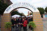 Mercadillo artesanal en Roldán 2012
