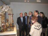 El Alcalde inaugura la exposición 'El belén de Salzillo a través de Nicolás Almansa'