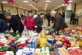 El Fútbol Base recoge 5.000 kilos de alimentos