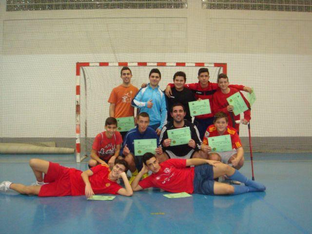 El Suma y sigue de Alguazas organiza un Campeonato de Navidad de Fútbol-Sala para estudiantes de secundaria - 1, Foto 1